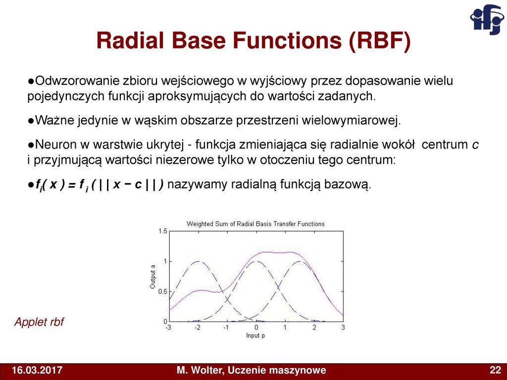 Radial Base Functions (RBF)
