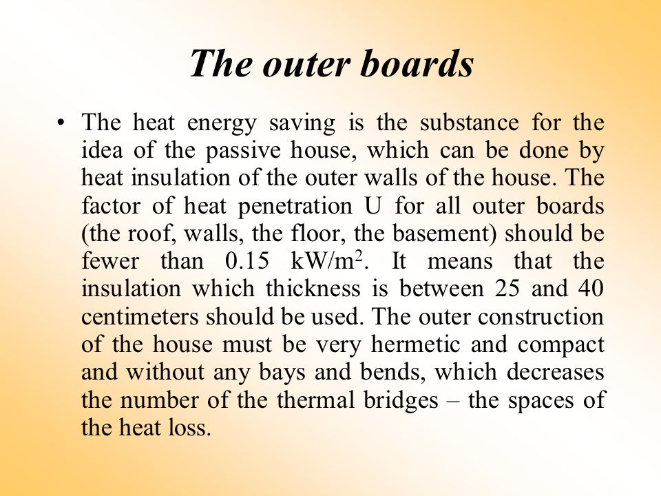 The outer boards
