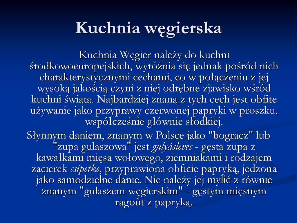 Węgry Powierzchnia Km² Ilość Mieszkańców Ppt Pobierz