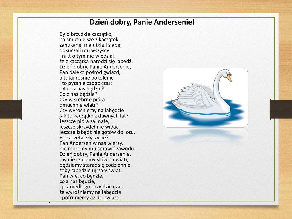 Hans Christian Andersen Ppt Pobierz
