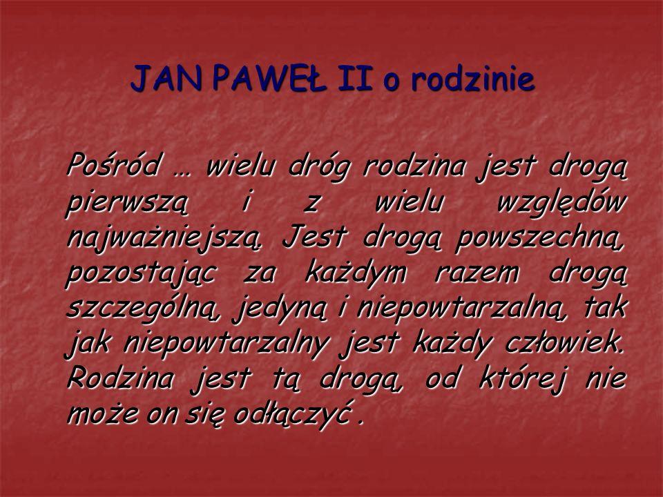 Jan Paweł Ii Orędownik Rodzin Ppt Pobierz