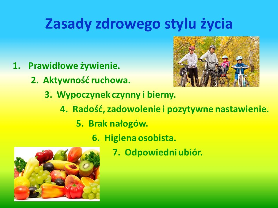 """Prezentacja multimedialna """"ZDROWY STYL ŻYCIA"""" - ppt video online ..."""