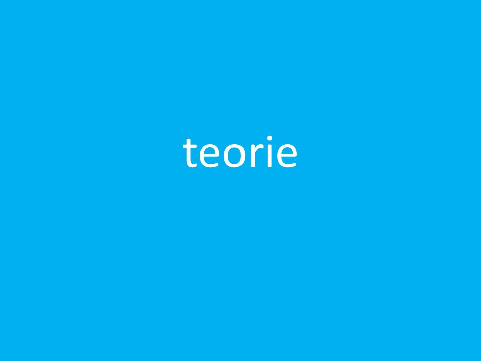 teorie