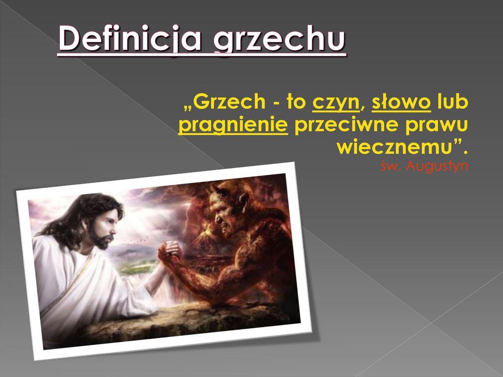 Znalezione obrazy dla zapytania grzechy przeciwne wierze