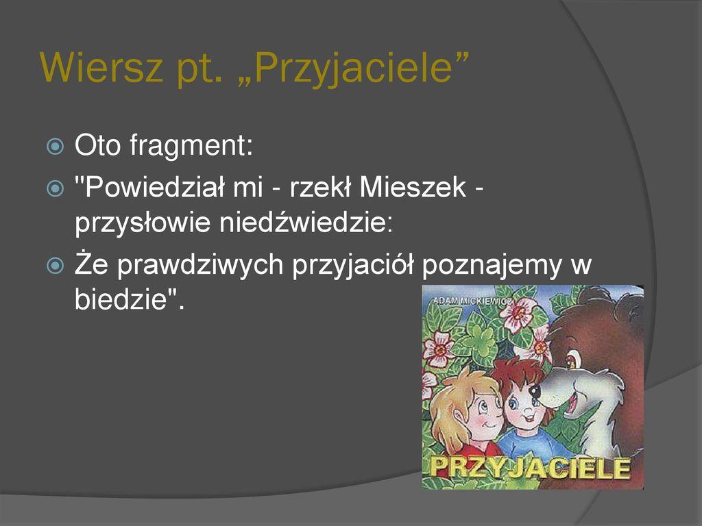 Adam Mickiewicz Ppt Pobierz