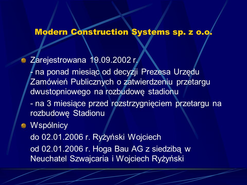 Modern Construction Systems sp. z o.o.