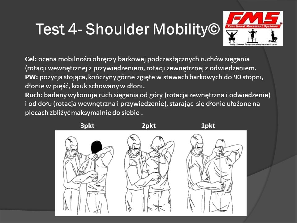 Test 4- Shoulder Mobility©