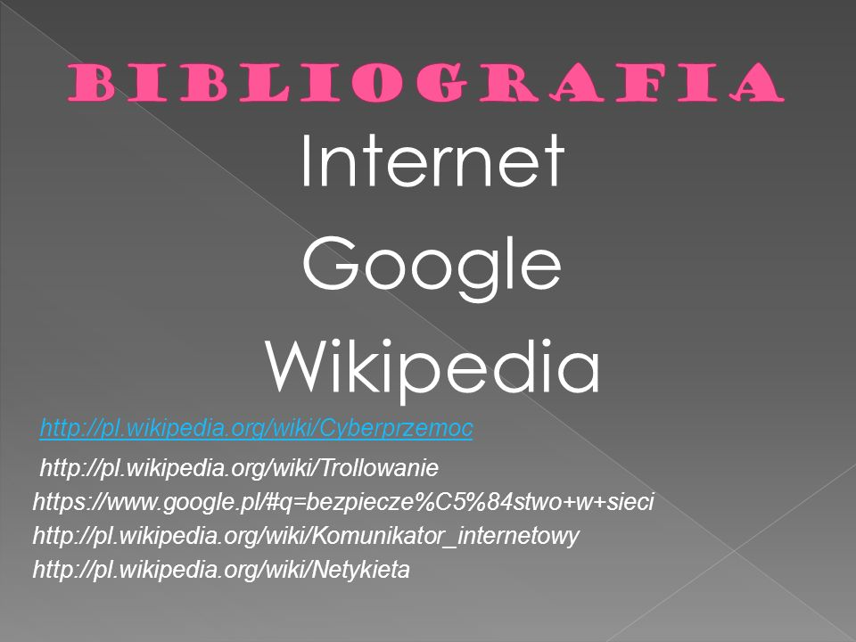 Internet Google Wikipedia