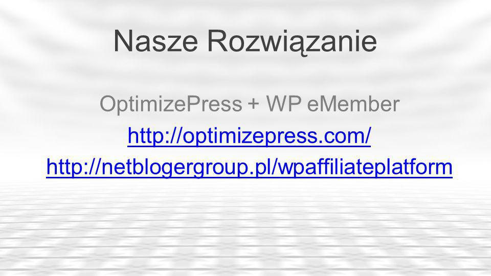 OptimizePress + WP eMember