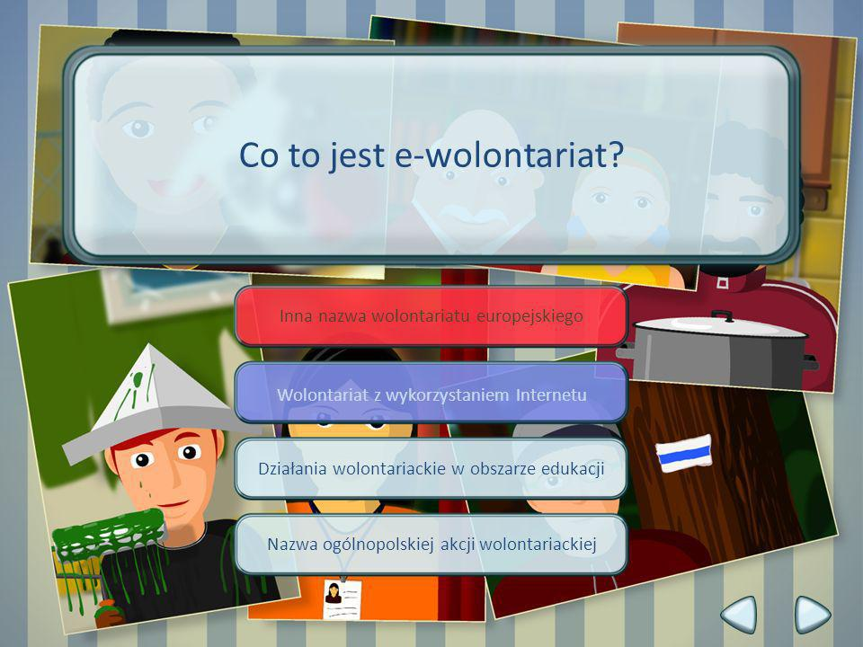 Co to jest e-wolontariat