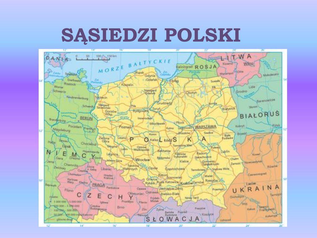 Sasiedzi Polski Ppt Pobierz