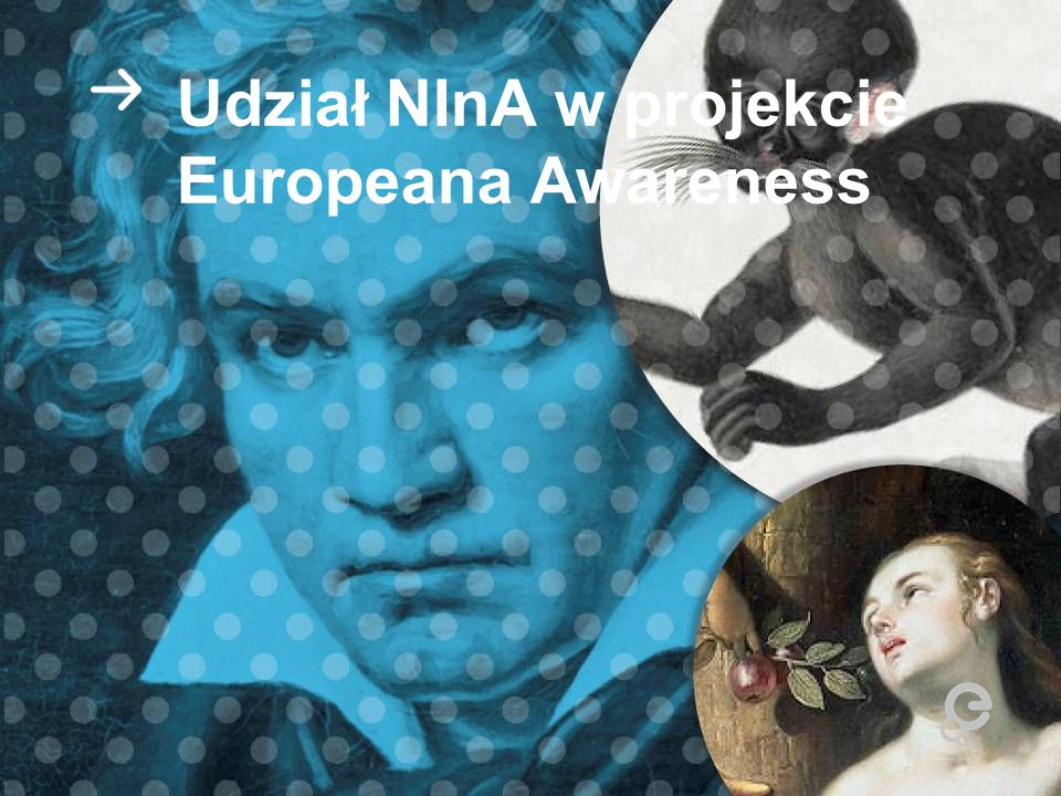 Udział NInA w projekcie Europeana Awareness