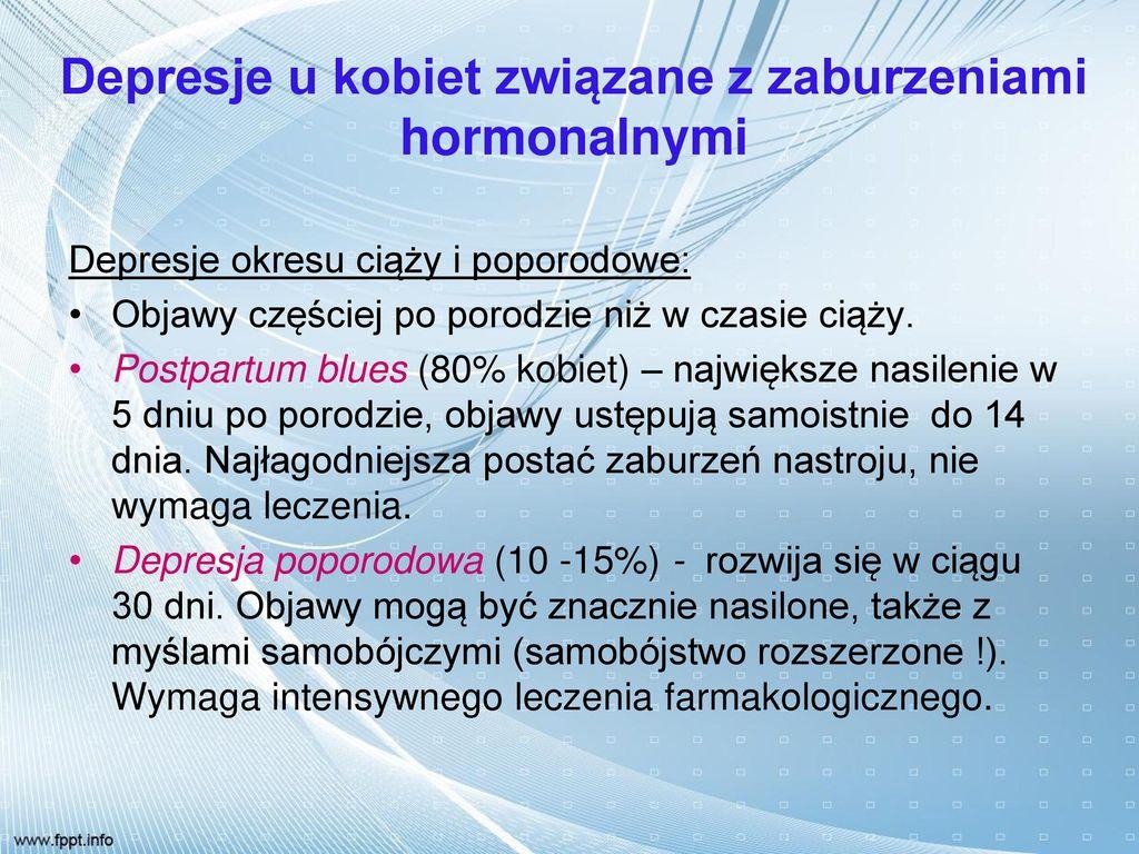 Zaburzenia Psychiczne w Chorobach Somatycznych - ppt pobierz