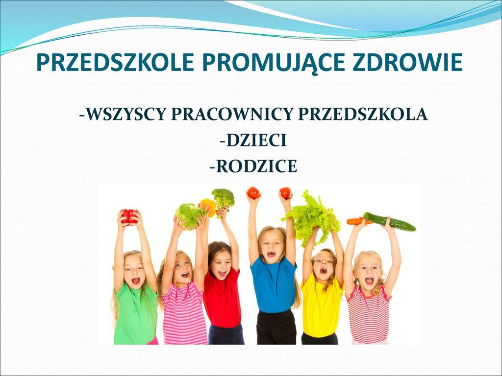 Znalezione obrazy dla zapytania przedszkole promujące zdrowie logo