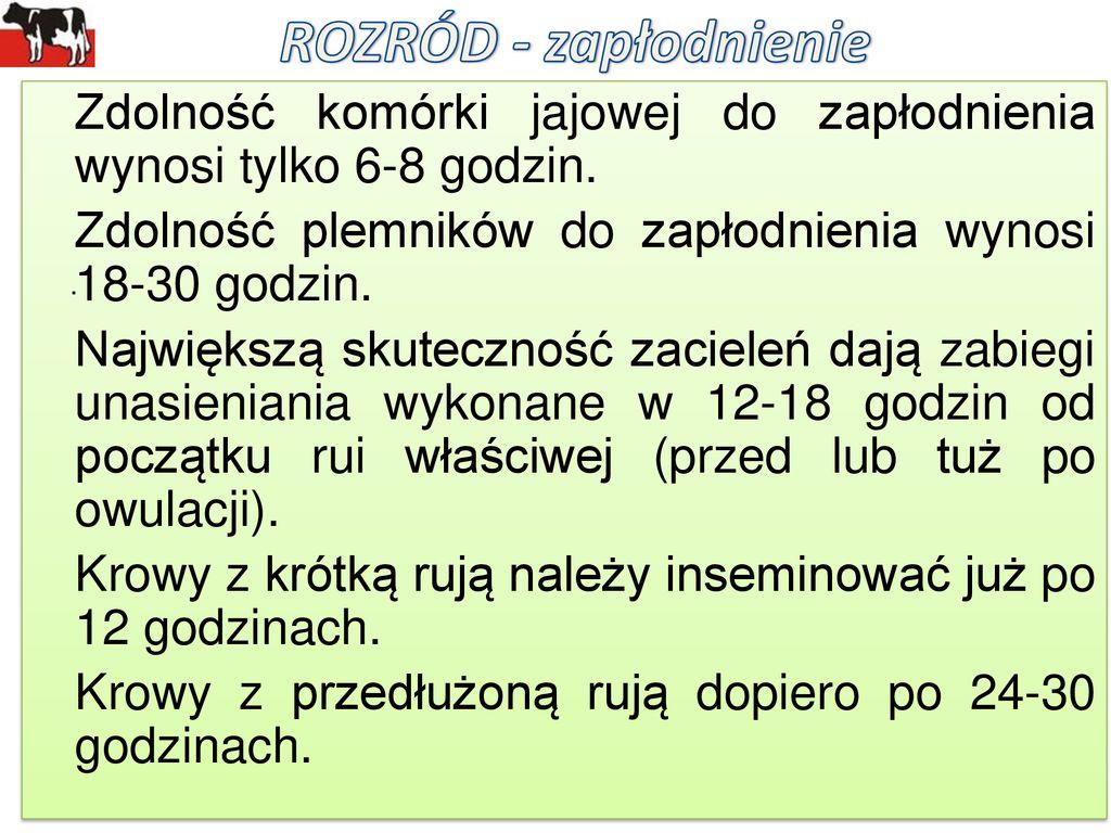 Rozród Pod Lupą Oceny Waldemar Krzymowski Inspektor Nadzoru Ppt