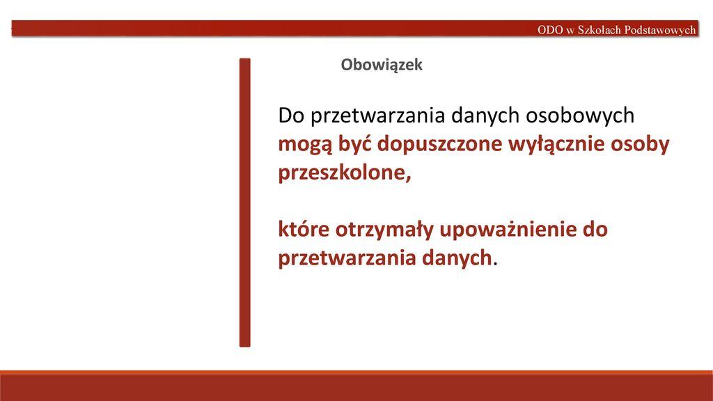 01cb656ae5826e Ochrona danych osobowych w szkołach podstawowych RODO - ppt pobierz