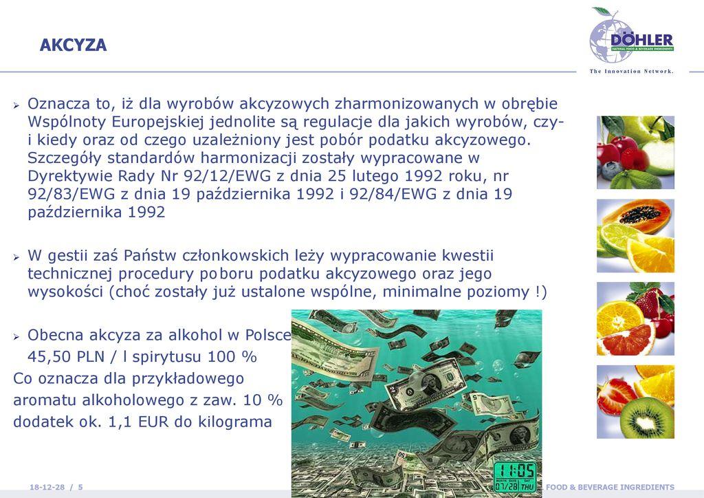 Aromaty A Akcyza Grzegorz Frcek 11 Maja Ppt Pobierz