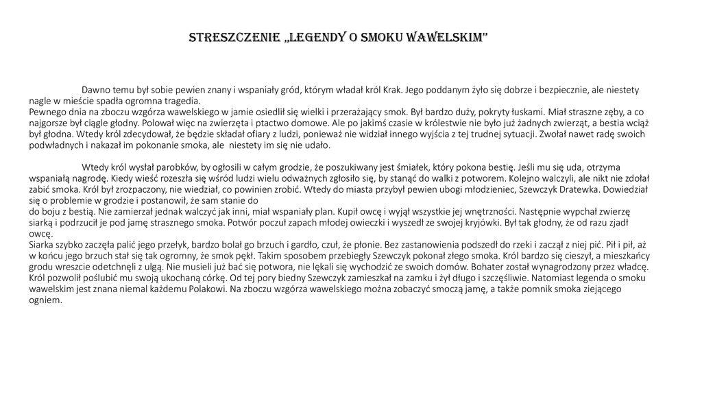 Polskie Legendy Legenda O Panu Twardowskim Ppt Pobierz