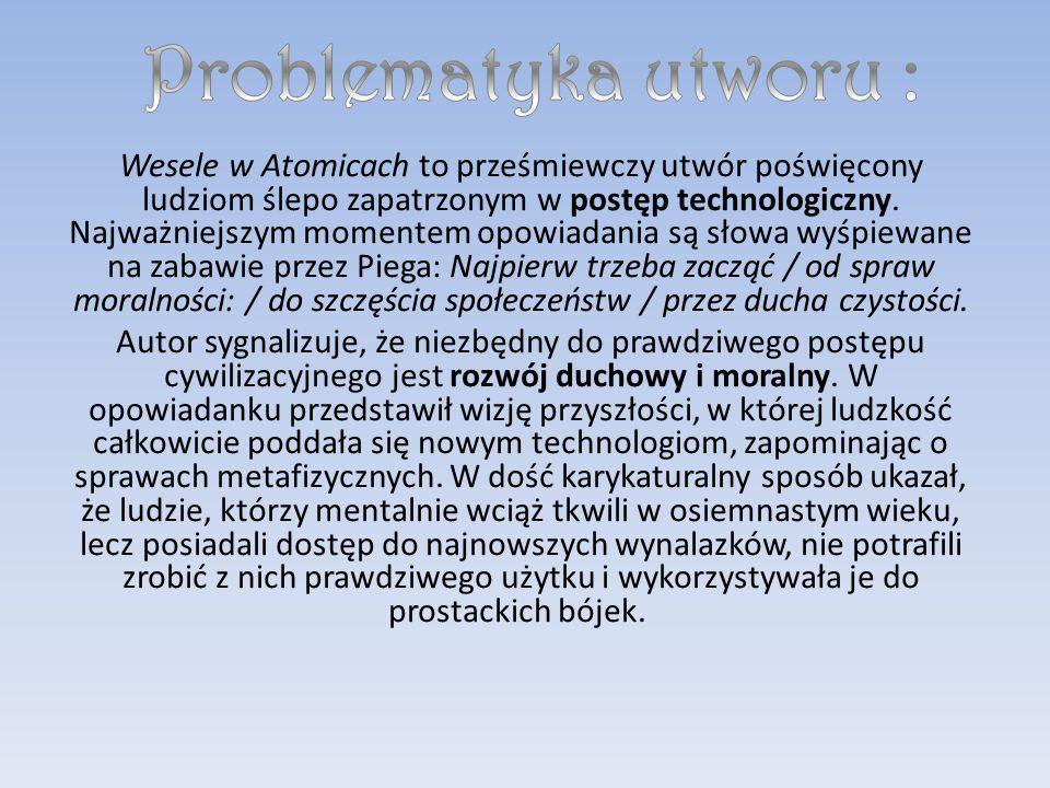 Wesele W Atomicach Ppt Pobierz