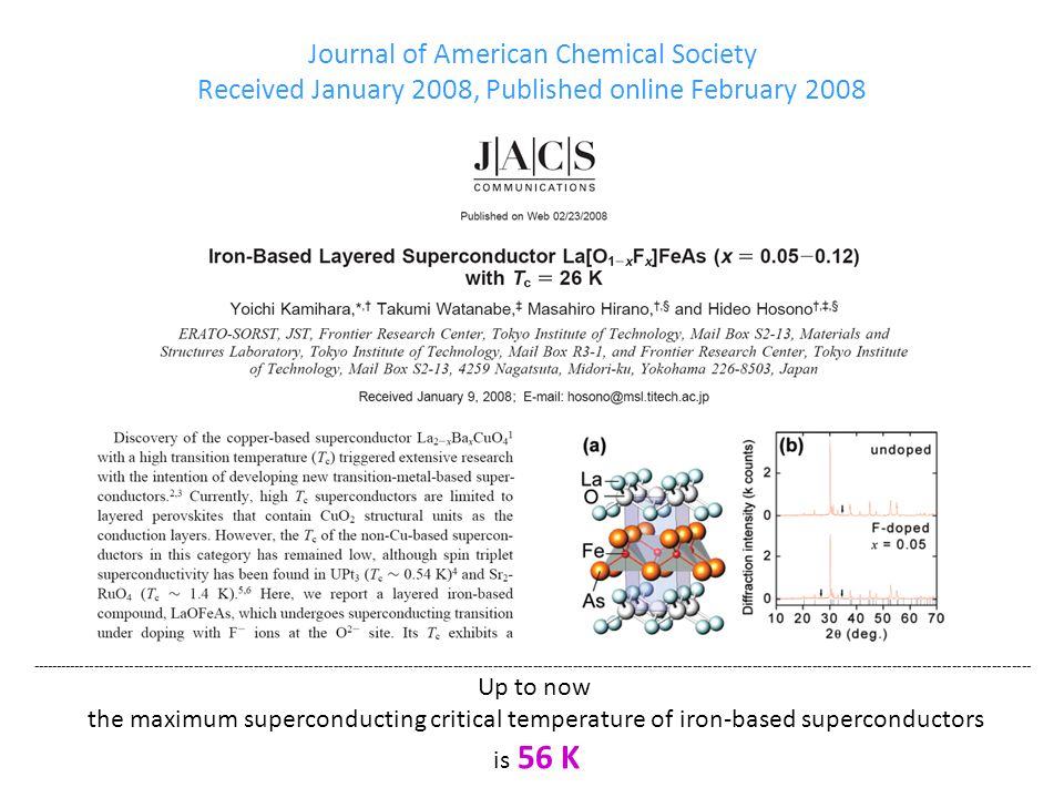 Journal of American Chemical Society