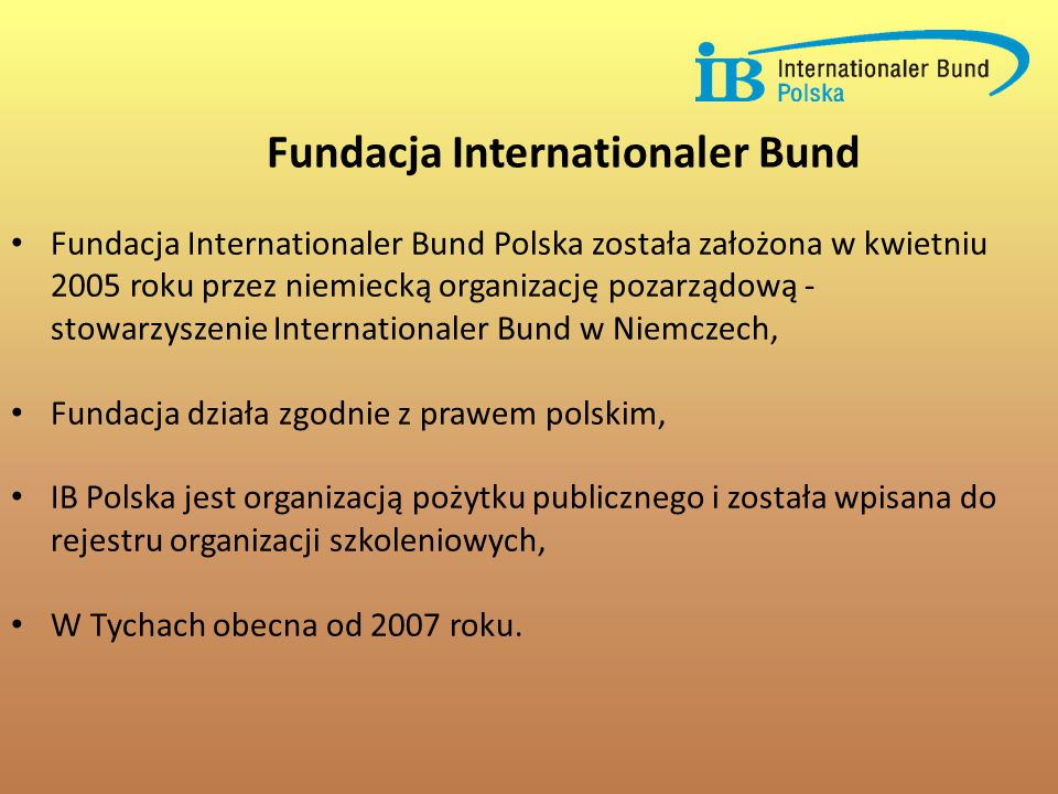 Fundacja Internationaler Bund