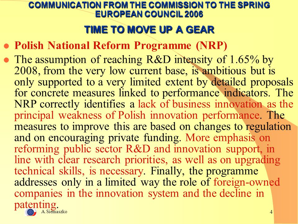 Polish National Reform Programme (NRP)