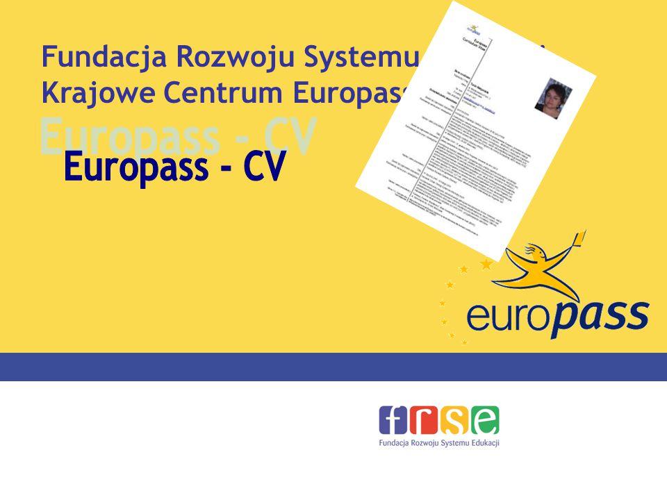 portfolio europass fundacja rozwoju systemu edukacji