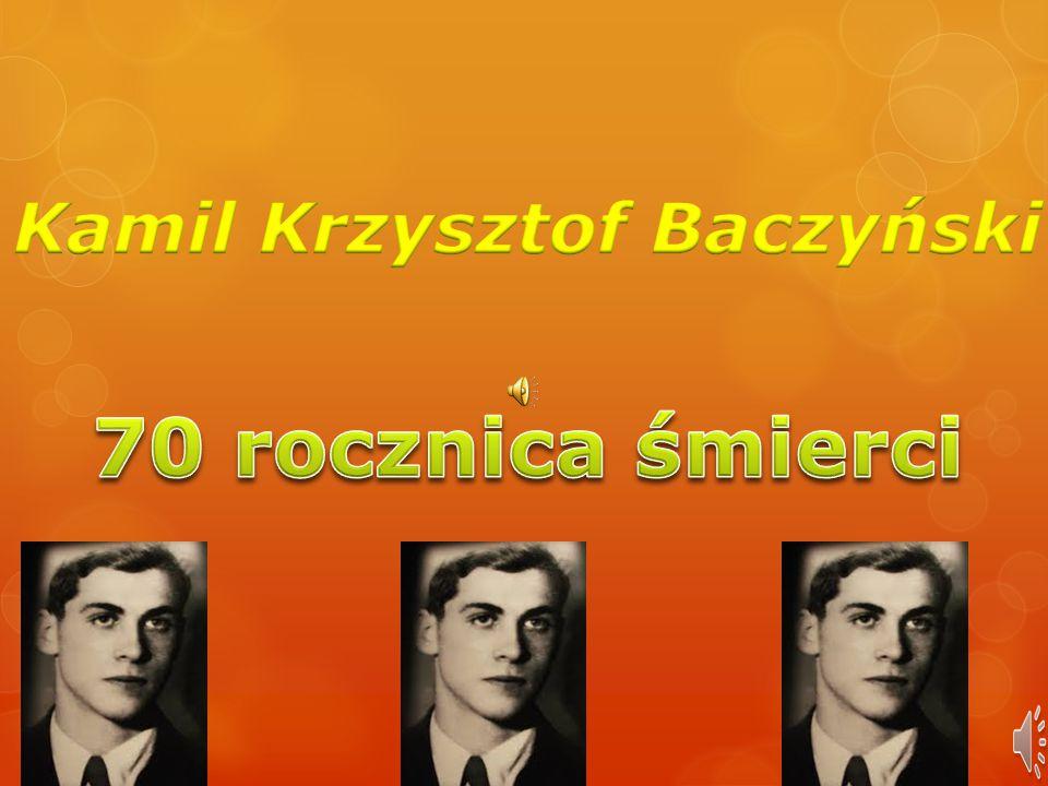 Kamil Krzysztof Baczyński Ppt Pobierz