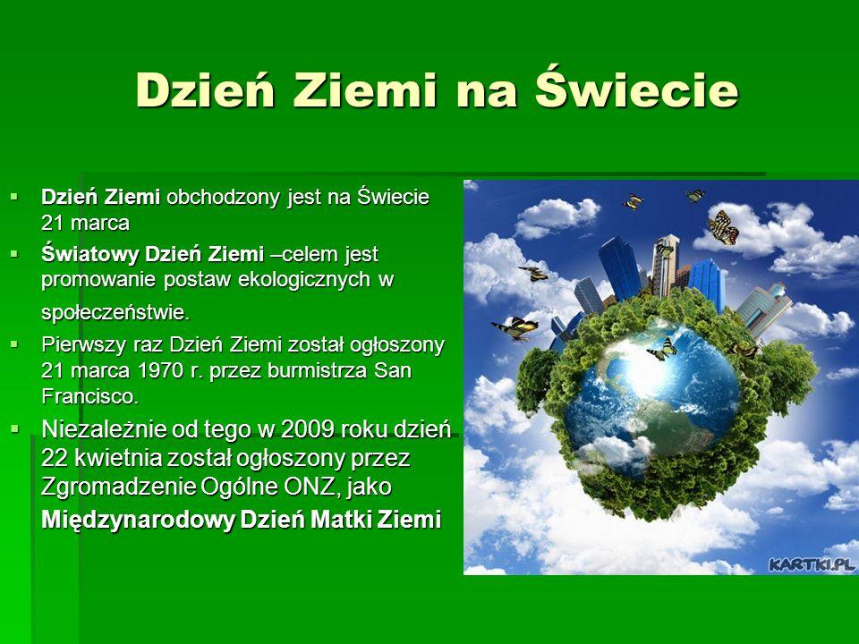Dzień Ziemi 22 Iv Ppt Pobierz