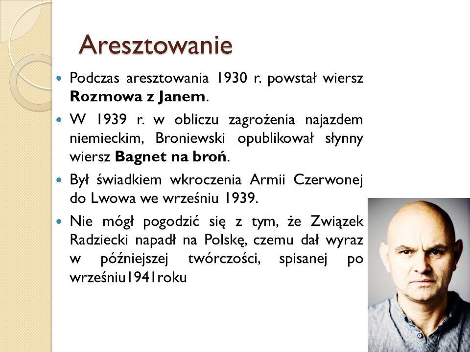 Twórczość I życie Władysława Broniewskiego Ppt Video