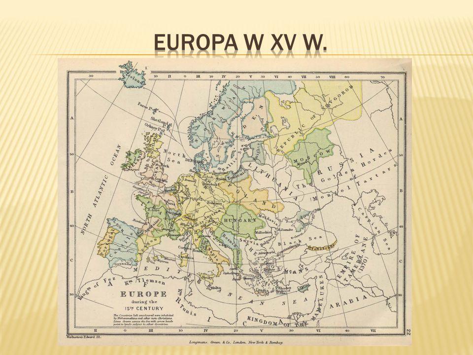 Mapa Polityczna Europy Xvi W Ppt Video Online Pobierz