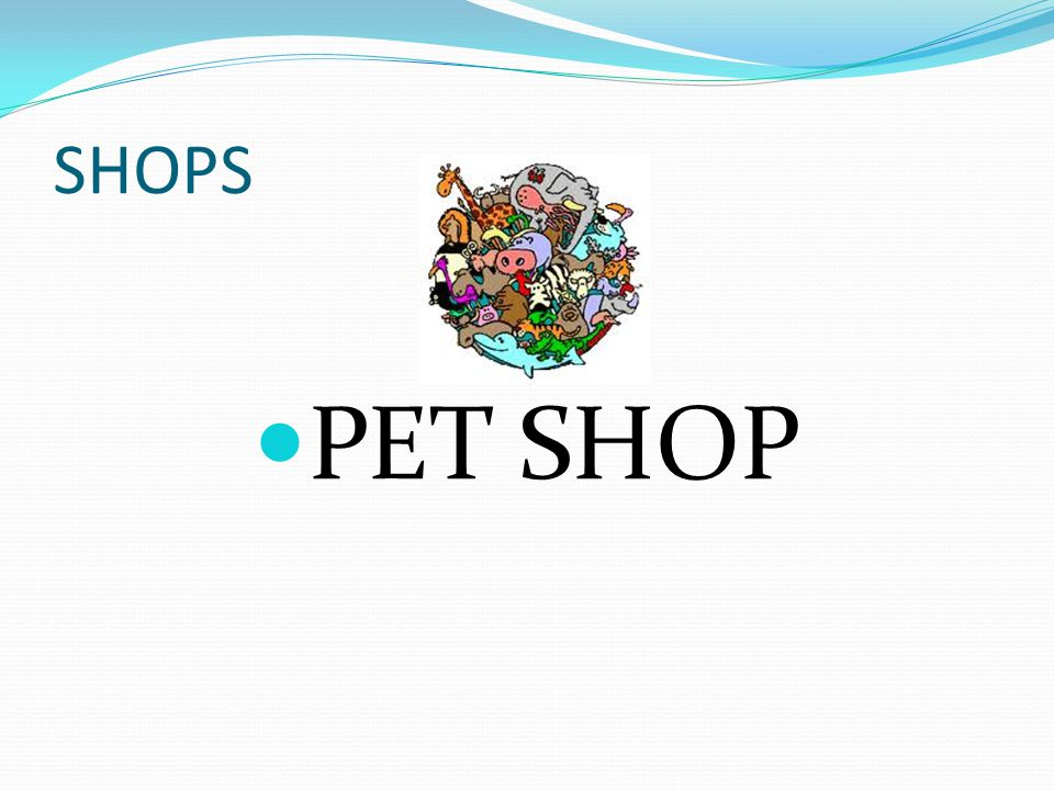 SHOPS PET SHOP