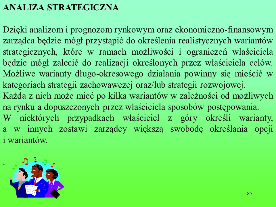 . ANALIZA STRATEGICZNA.