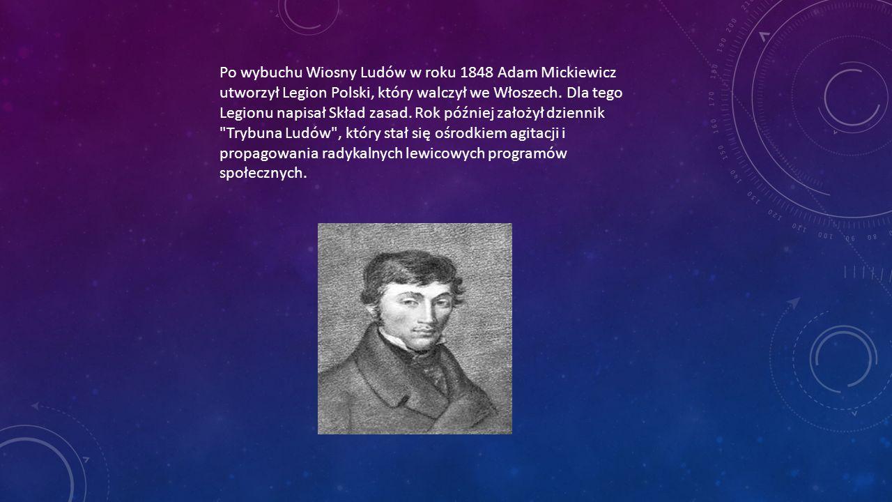 życiorys Adama Mickiewicza Ppt Pobierz