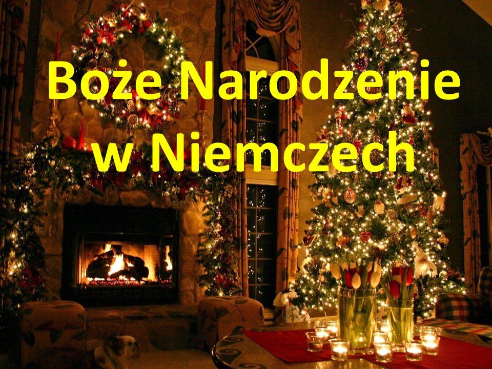 Boże Narodzenie w Niemczech - ppt pobierz