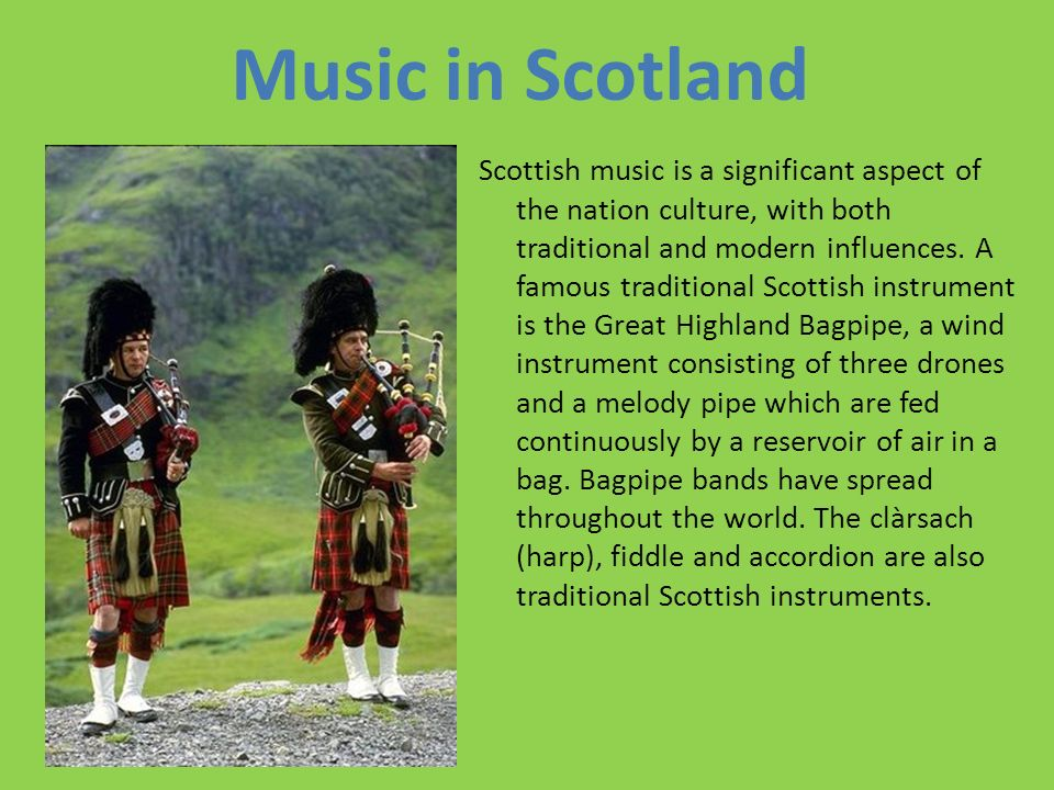 Music in Scotland