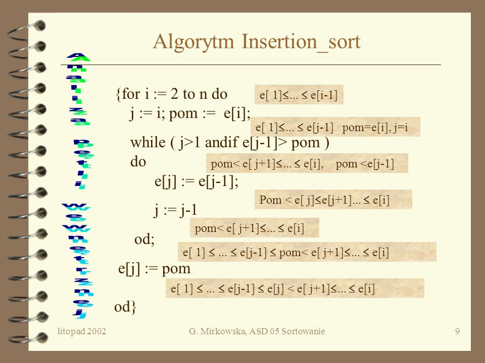 Algorytm Insertion_sort