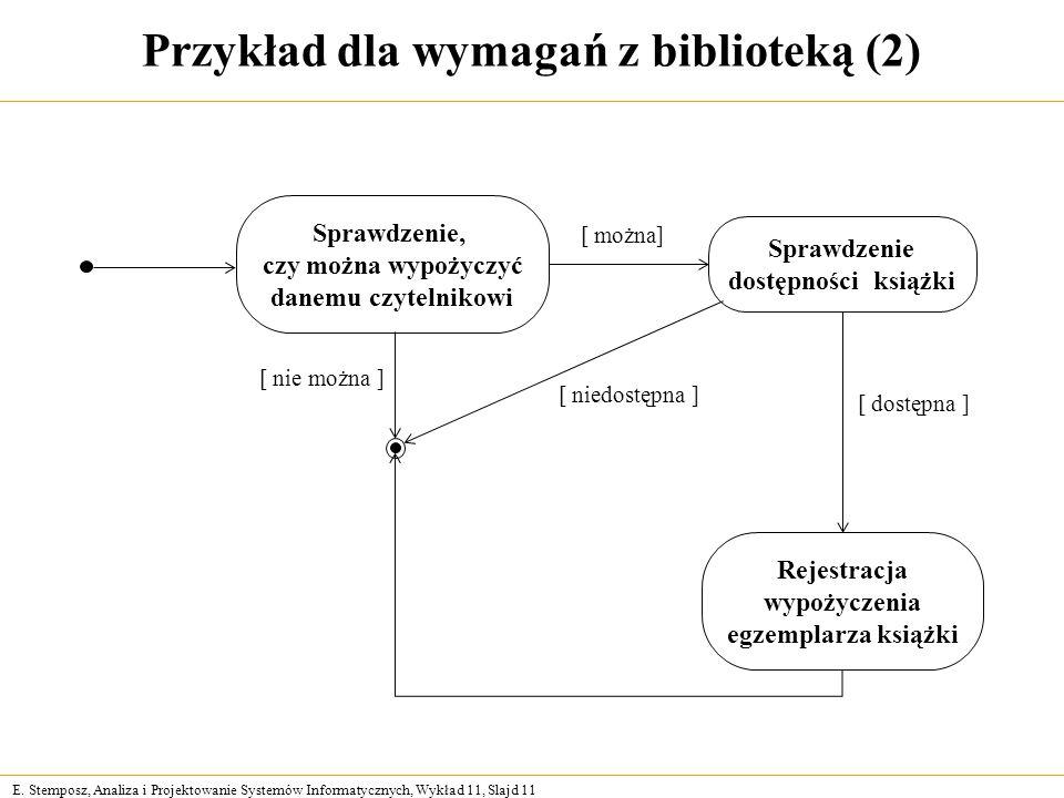 Projektowanie systemw informacyjnych ppt pobierz przykad dla wymaga z bibliotek 2 ccuart Choice Image