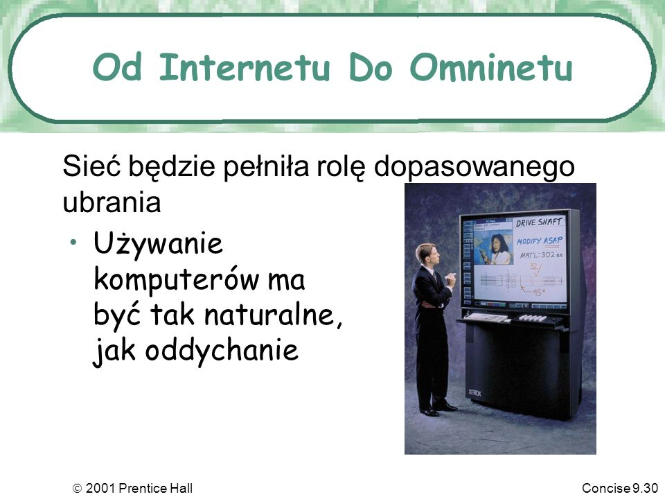 Od Internetu Do Omninetu