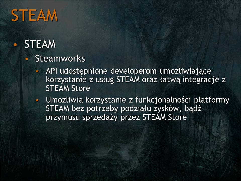 STEAM STEAM Steamworks