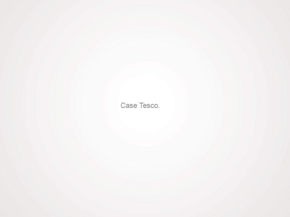 Case Tesco.