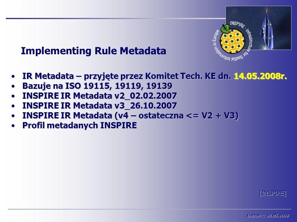 Implementing Rule Metadata