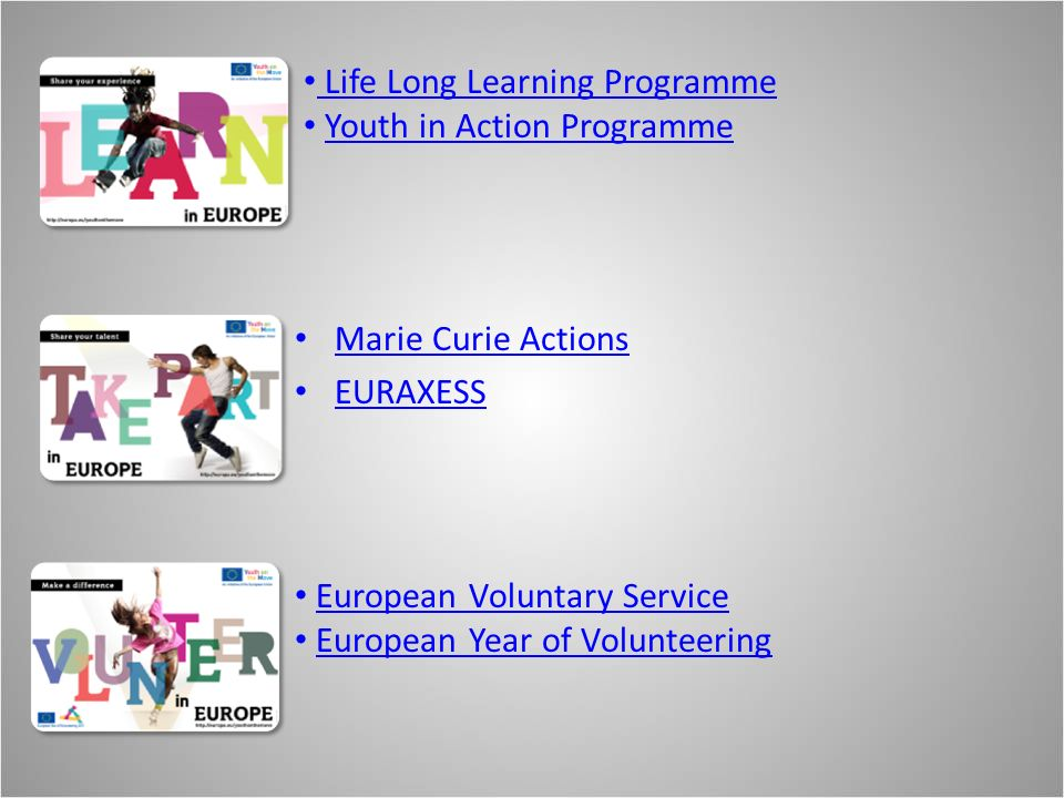 Life Long Learning Programme