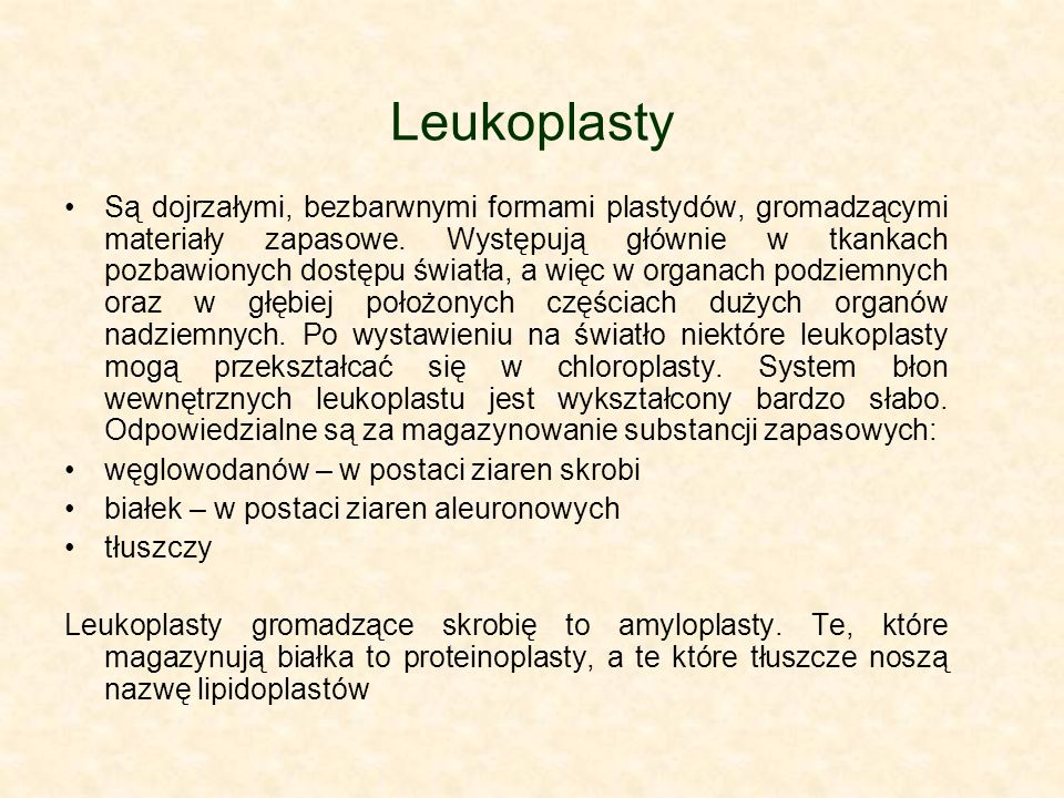 Leukoplasty