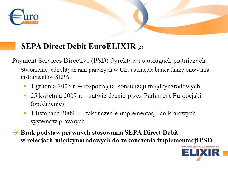 SEPA Direct Debit EuroELIXIR (2)