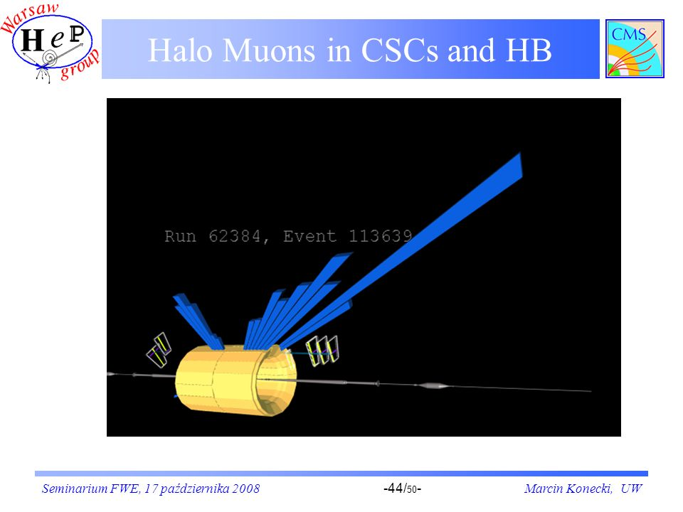 Halo Muons in CSCs and HB