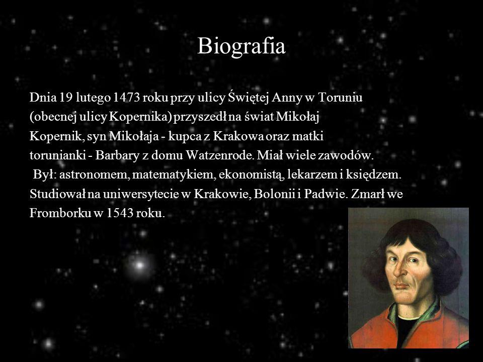 Mikołaj Kopernik Wstrzymał Słońce Ruszył Ziemię Ppt Pobierz