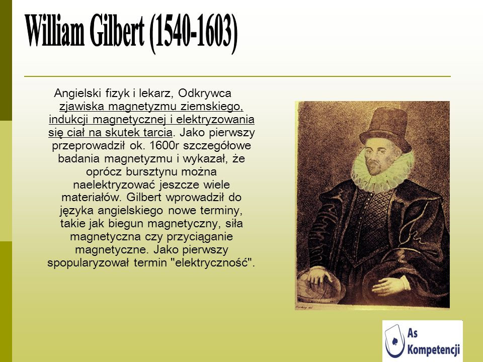 William Gilbert (1540-1603)