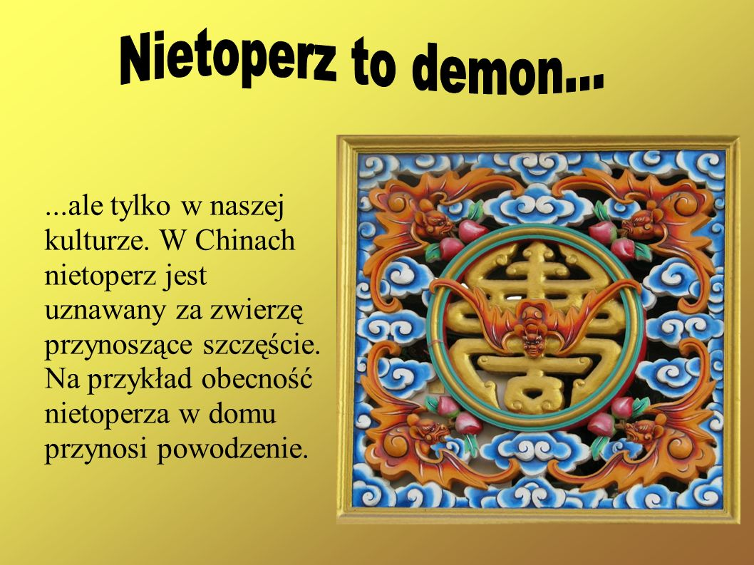 Nietoperz to demon...
