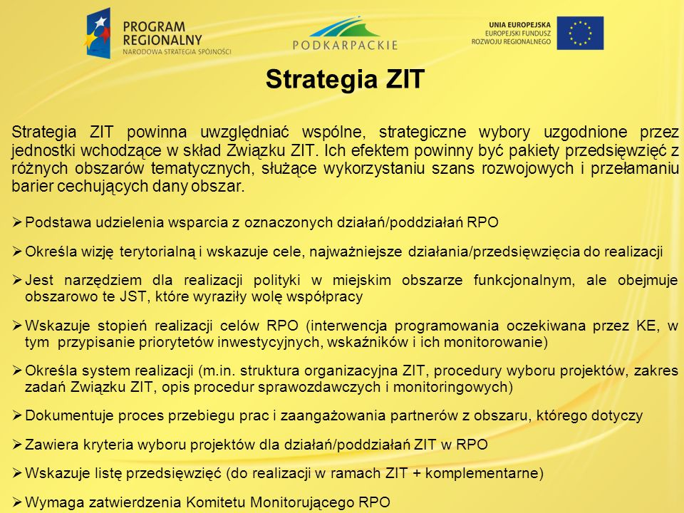 Strategia ZIT